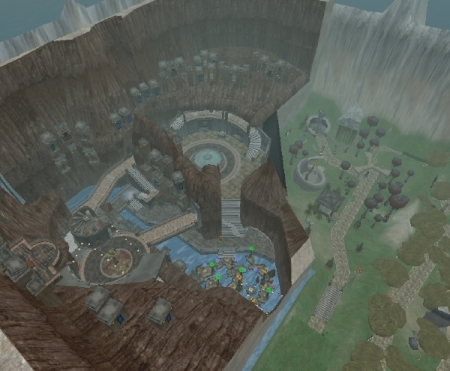 Myst Island in Second Life 1